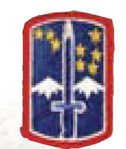 Premier Emblem PMV-0172A 172nd Infantry Bde