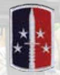 Premier Emblem PMV-0189A 189th Inf Bde