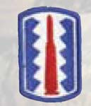Premier Emblem PMV-0197A 197th Infantry Bde