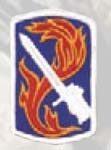Premier Emblem PMV-0198A 198th Infantry Bde