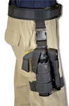 Premier Emblem PN3808 MK-9 Drop Leg Holster w/ Flash Lite Holder