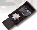 Premier Emblem NylonWalletWIDBadgeHolder Nylon Wallet W/ ID & Badge Holder