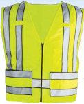Premier Emblem PV1006 Zip–Front 5 Point Breakaway Safety Vest