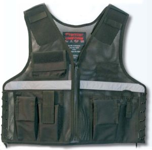 Premier Emblem PV313F Investigator Vest With Reflective Stripe across chest and back