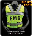 Premier Emblem PV3339 RIP STOP NYLON Saftey vest