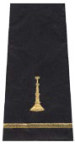 Premier Emblem S1500 One Bugle Shoulder Board