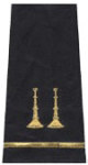 Premier Emblem S1502 Two Parallel Bugle Shoulder Board