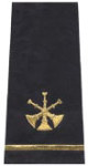 Premier Emblem S1506 Three Bugle Shoulder Board
