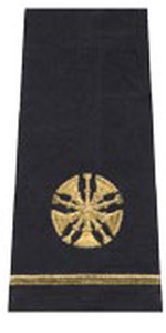 Premier Emblem S1510 Five Bugle Shoulder Board