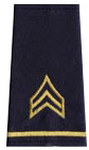 Premier Emblem S1623 MILITARY SGT.