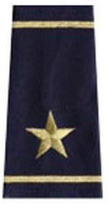Premier Emblem S1649 DOUBLE BAR - 1 STAR