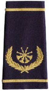 Premier Emblem S1818 Four Crossed Bugle W/ Wreath