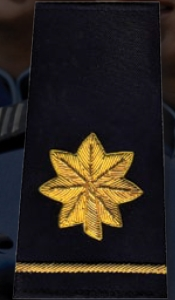 Premier Emblem S1872 Major Rank Shoulder Boards