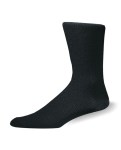 Pro Feet 206 1 x 1 Rib Nylon Crew Dress Sock