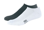 Pro Feet 842_3 Arch Support Sandwich Terry Helf Cushioning Cotton Low Cut Sock
