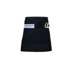 Pinnacle Textile A2005 Half Bistro Apron, divided pocket, self tie