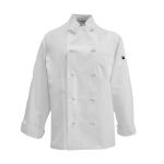 Pinnacle Textile C428 Chef Coat-10 Knot Buttons, Cotton