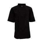Pinnacle C501 Keep Kool MESH Back Chef Coat - 65/35 Poplin