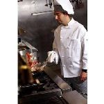 Pinnacle C428 100% Cotton Twill Chef Coat