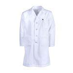 Pinnacle Textile L17M Mens Lab Coat, button front