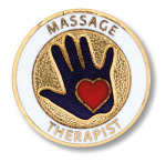 Prestige Medical 1008 Massage Therapist Emblem Pin