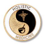 Prestige Medical 1015 Holistic Medicine Emblem Pin