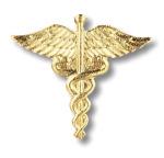 Prestige Medical 1020 Caduceus Pin