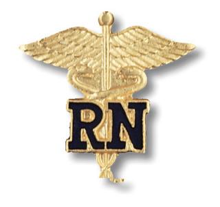 Prestige Medical 1021 1021 Registered Nurse Pin