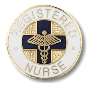Prestige Medical 1031 1031 Registered Nurse Pin