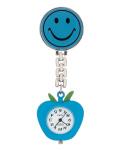 Prestige Medical 1379 Smiley Face Lapel Watch