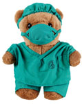 Prestige Medical 1841-TEA Dcotor Scrub Bear