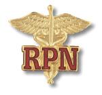 Prestige Medical 2023 Registered Practical Nurse (Caduceus) Emblem Pin (Canada Only)