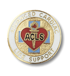 Prestige Medical 2080 Advanced Cardiac Life Support Emblem Pin