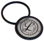 Prestige Medical 36556 Littmann Tunable Diaphragm And Rim Assembly (For Cardiology II S.E., III, Master Classic II S.E., Classic II S.E. & Select) Black