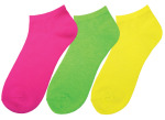 Prestige Medica 383 Neon Nurse Socks (Three-packs)