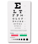 Prestige Medical 3909 Snellen Pocket Eye Chart