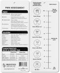 Prestige Medical 3910 Pain Assessment Card