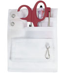 Prestige Medical 742_DW 5-Pocket Daisy on White Organizer Kit