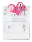 Prestige Medical 742_HP 5-Pocket  Hope Pink Ribbon Organizer Kit