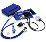 Prestige Medical A2W Prestige Medical Aneroid Sphygmomanometer / Sprague-Rappaport Stethoscope Kit With Watch And Badge Tac