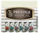 Prestige Medical DIS-SIGN Slat Wall Hanging Display Sign