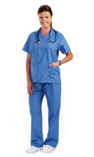 Prestige Medica SCRUB TOP Premium Unisex Scrub Tops