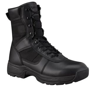 "Propper F4529 SERIES 100 8"" WATERPROOF SIDE ZIP BOOT COMP TOE"