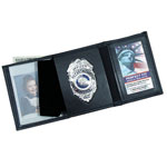 Perfect Fit 106-A, Trifold Wallet With Double ID