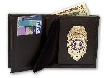 Perfect Fit 119-A, 2 3/4 x 4 5/8 Badge And Double ID Wallet