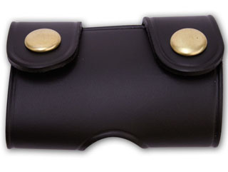 Perfect Fit 604, Wide Quad Snap Belt Keeper With Black Snaps