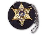 Perfect Fit 700-R, Round Universal Badge Holder With Chain
