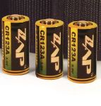 Personal Security Products CR123A CR123A Lithium Battery - 4 pack