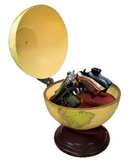 Personal Security Products GG1 Gun Globe-inside diameter  (holds up to 4 guns)