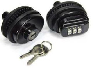 Personal Security Products TL01 Keyed Metal Trig Lock